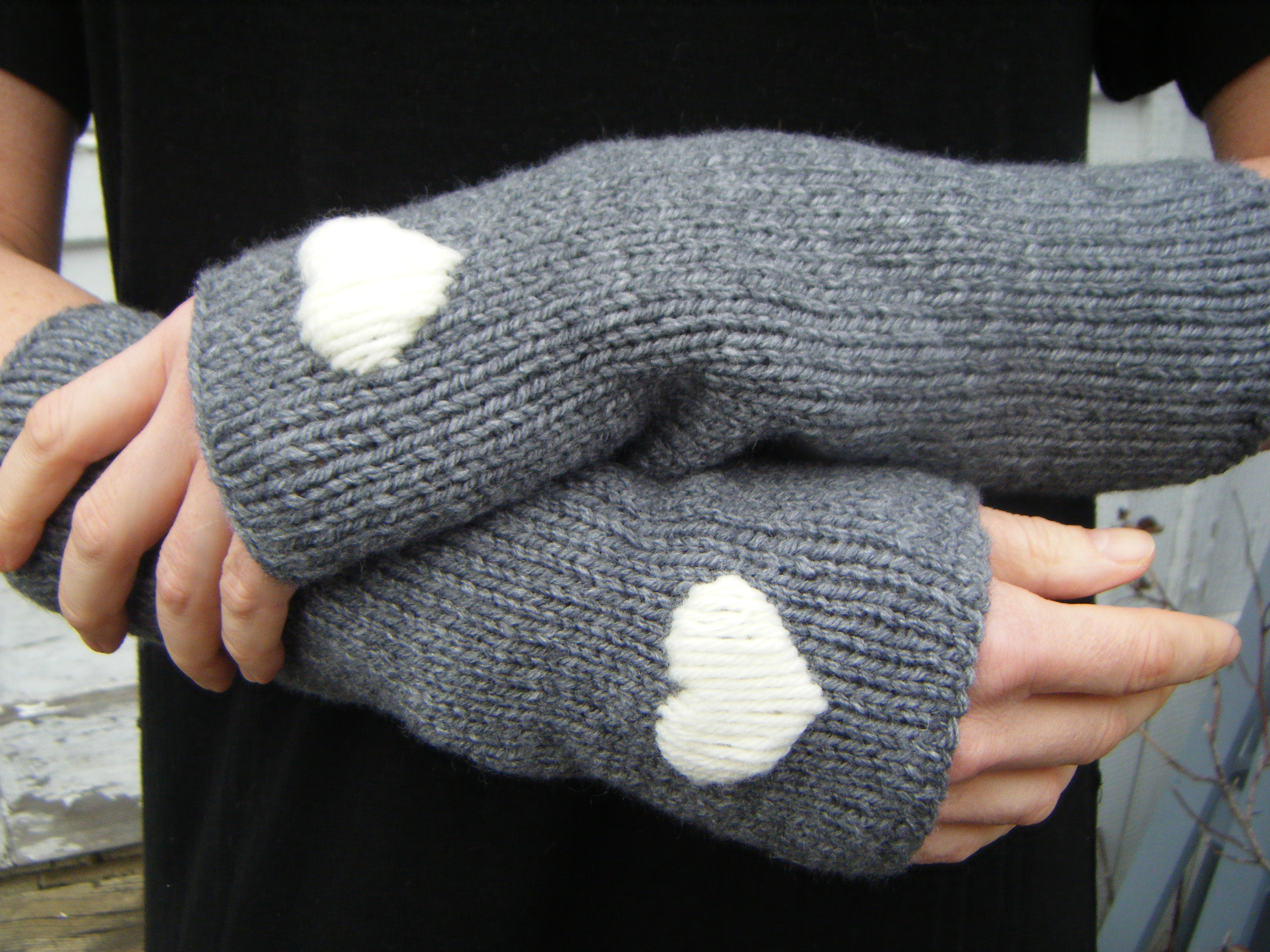 Awesome Knit Arm Warmer Pattern Photos - Blanket Knitting Pattern ...