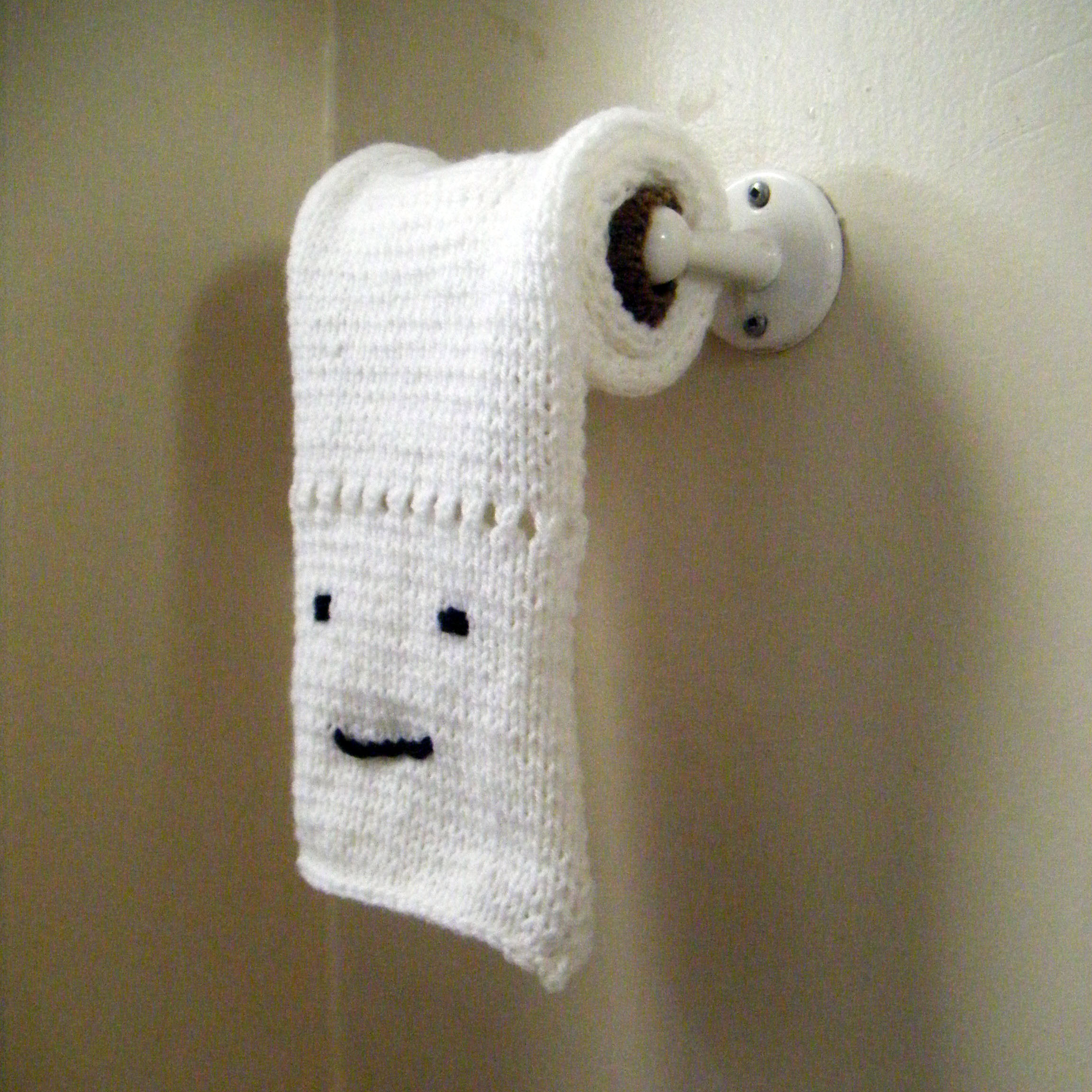 Knitting Pattern For Toilet Paper Holder : Crafts my sweet cheap life